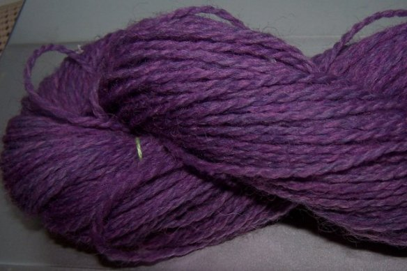 Wendy yarn after overdyeing