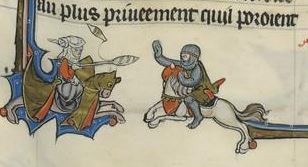 BnF 95, Arthurian romance, French 1201-1300